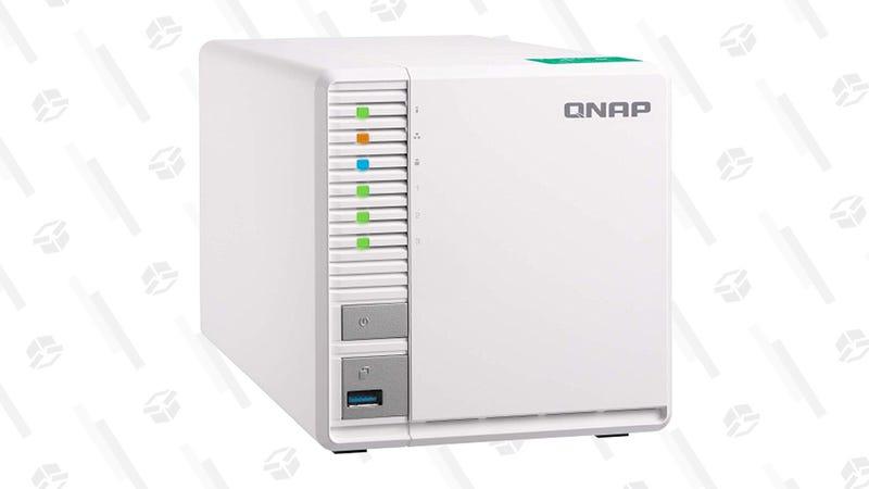 QNAP TS-328 3-bay Diskless Personal Cloud NAS Storage System | $170 | Woot