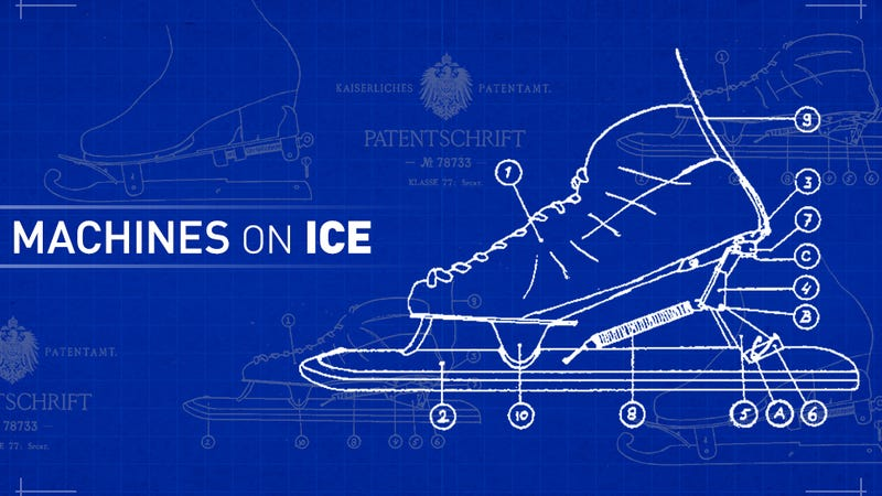Illustration for article titled How A Century-Old Skate Design Completely Changed Modern Speed Skating