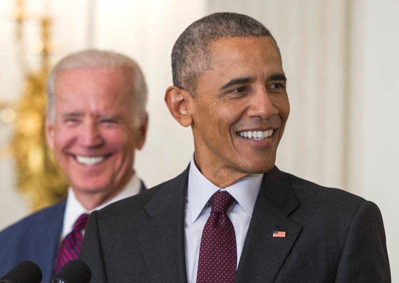 Former Vice President Joe Biden and former President Barack Obama (Kevin Dietsch-Pool/Getty Images)