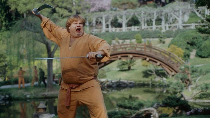 The fabled Beverly Hills Ninja. (Photo: Tristar)