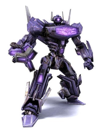 Illustration for article titled Shockwave Cares Not For Your GameStop War On Cybertron Preorder