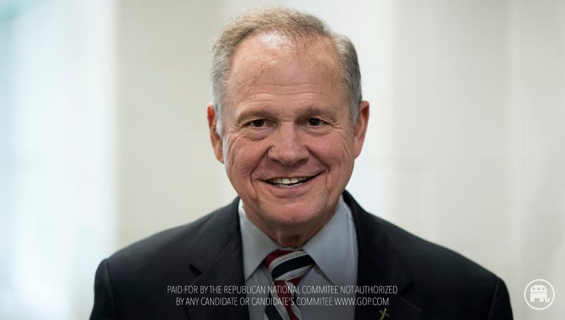 Illustration for article titled New RNC Ad Endorses Roy Moore: 'He's A Scumbag, But He's Our Scumbag'
