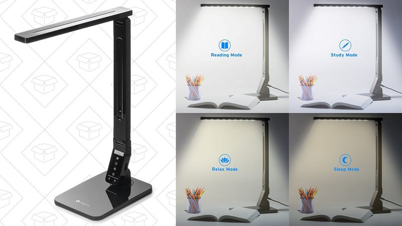 Etekcity Dimmable LED Desk Lamp, $22 with code SFQZHAP2