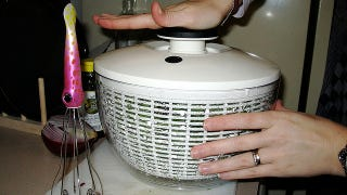 Illustration for article titled Wash Bras and Other Delicates in a Salad Spinner to Protect Them from Wear and Tear