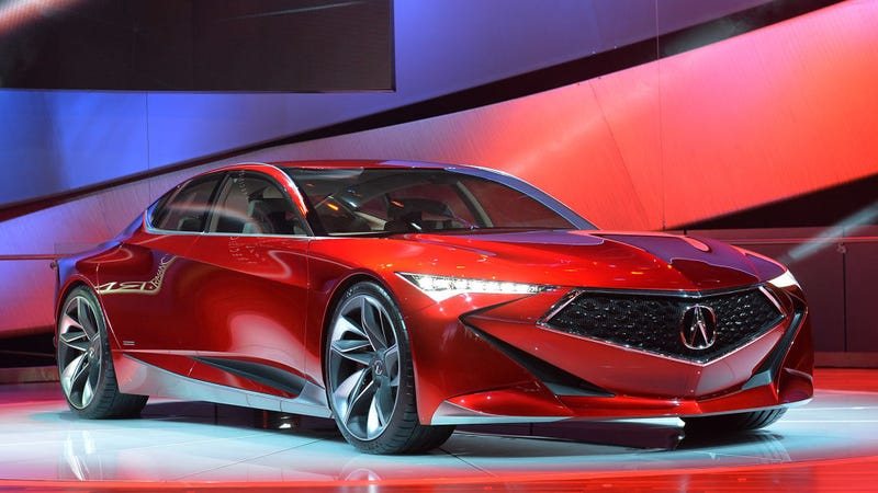 Illustration for article titled Acura is going to triple down on the beak