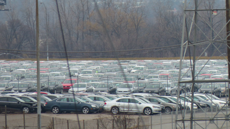 Dozens Of VW Diesels Were Stolen From Michigan's Abandoned NFL Stadium Lot