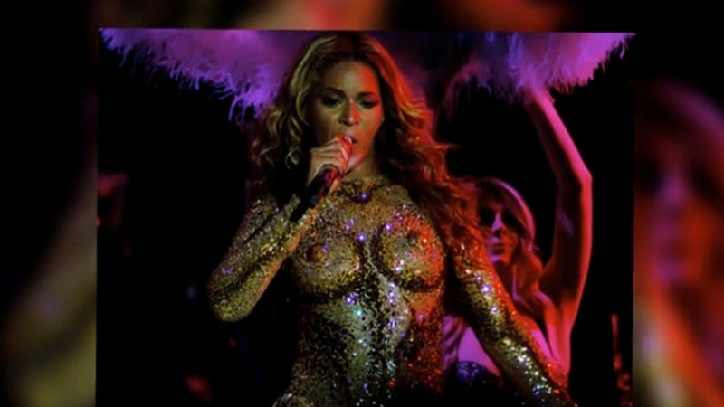 Illustration for article titled Beyoncé's Nipples Launch World Tour