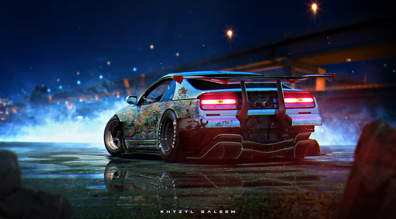 Top 10 Cyberpunk Car Renders Designed by Concept Artist Khyzyl ...