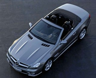 Illustration for article titled 2009 Mercedes SL Images Flood The Net