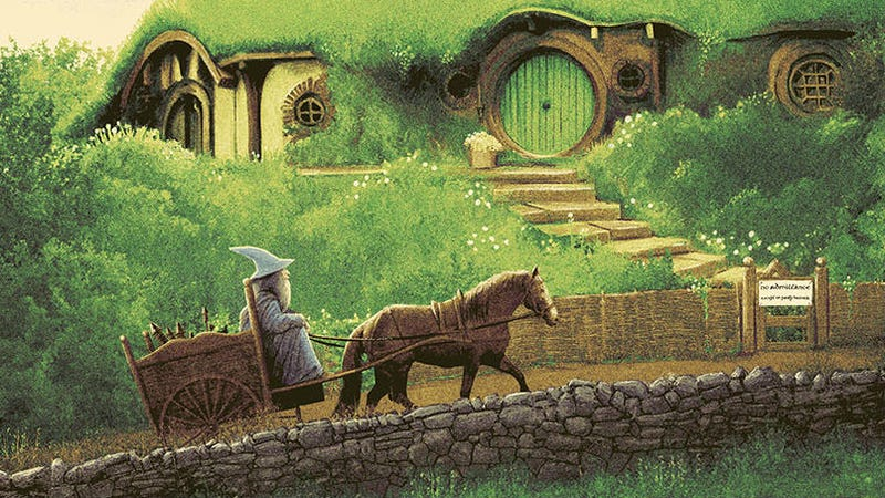 Illustration for article titled Follow Gandalf's Journey in These Stunning New Lord of the Rings Posters