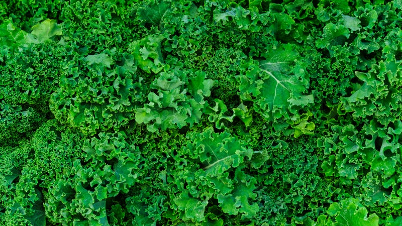 No, really, you want the organic kale