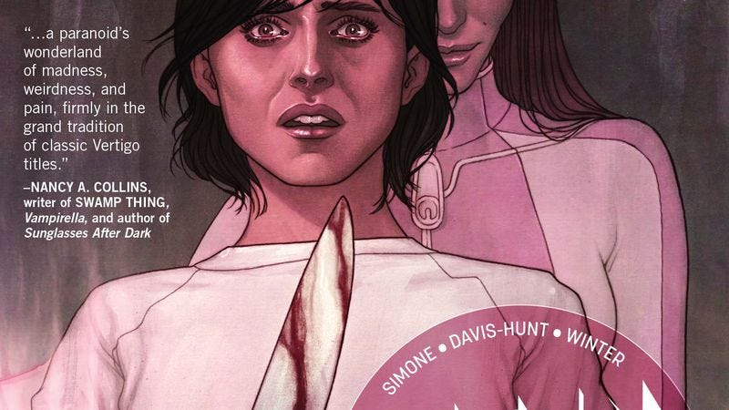 Illustration for article titled Vertigo exclusive: Clean Room #6 reveals the horrifying truth