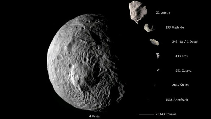 Illustration for article titled Is Vesta a giant asteroid or a protoplanet?