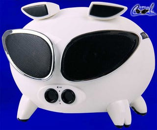 Illustration for article titled Speakal iPig Easily Corners the Atrocious Pig Speaker Market