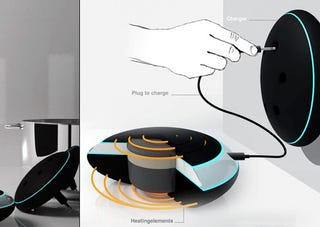 Illustration for article titled Stoov Portable Cooker Concept May Need Dolphins in Your Kitchen