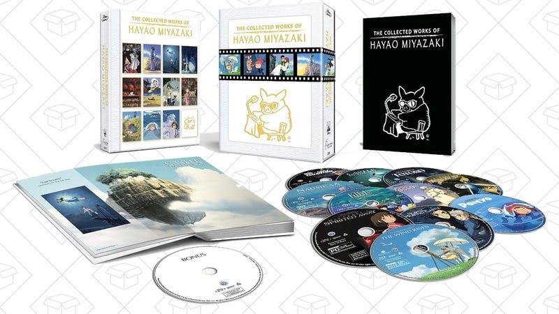 The Collected Works of Hayao Miyazaki (Amazon Exclusive), $142