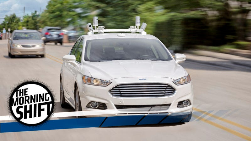 Illustration for article titled Ford Tells Feds: Autonomous Car Ethics Are On You
