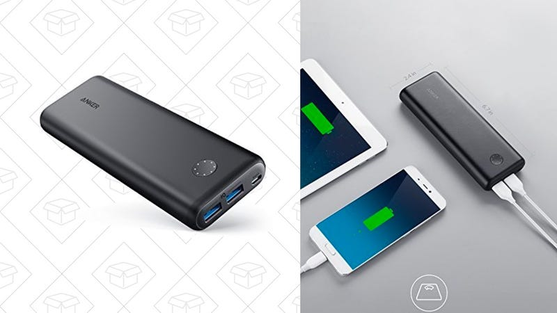 Anker PowerCore II 20000 | $36 | Amazon | Use code Y18A1260