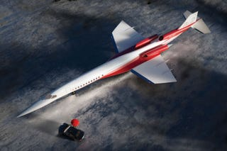 Illustration for article titled A Supersonic 'Mini Concorde' Business Jet Is Going To Happen