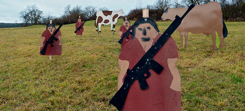Illustration for article titled A Fascinating Look At Shooting Targets Used By Armies Around the World
