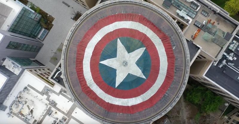 Illustration for article titled Convierten la gran cúpula del MIT en el escudo del Capitán América como homenaje a Avengers: Endgame
