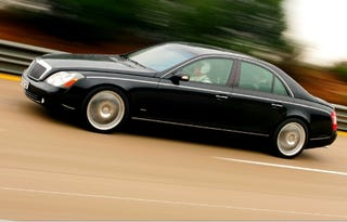 Illustration for article titled Brabus-Tuned Maybach 57 Hits 205 mph in Nardo