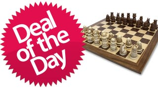 Illustration for article titled This Medieval Chess Set Is Your King's-Game Deal of the Day
