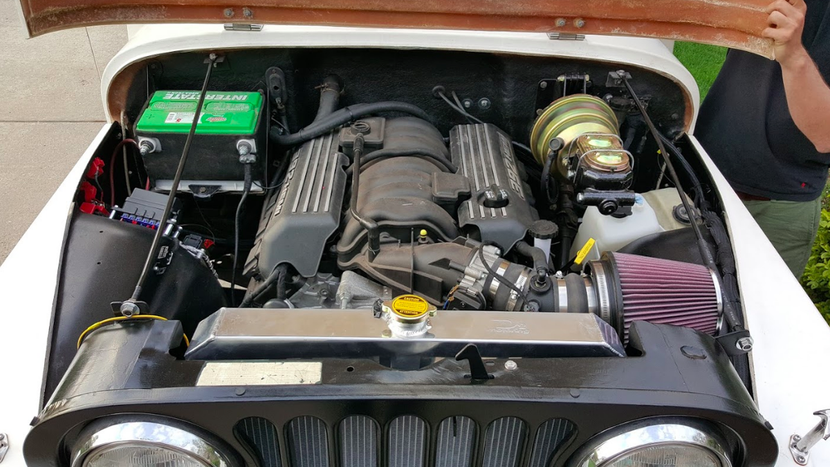 This Chrysler Engineer Is Shoving A 485 Horsepower Hemi V8 Into 1985 Jeep Cj Engine Wiring Harness Scrambler