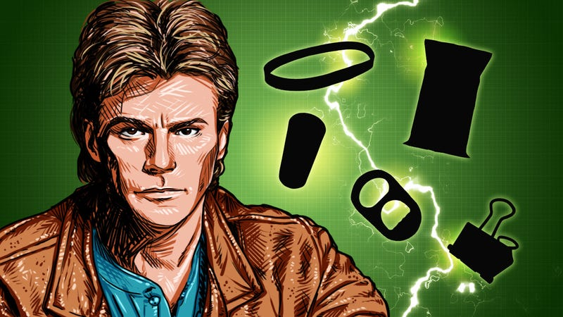 Illustration for article titled Top 10 Awesome MacGyver Tricks That Speak For Themselves