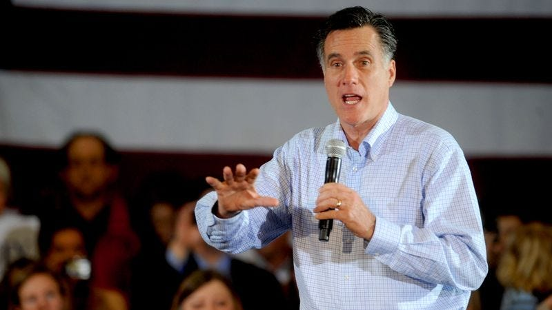 Illustration for article titled 'I Feel Your Pain,' Romney Tells Campaign Rally Attendees Who Make $20 Million A Year