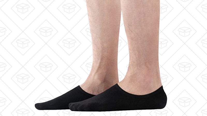 David Archy 6-Pack No-Show Socks, $12 with code H548MN68