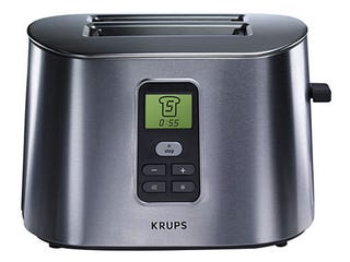 Illustration for article titled LCD Display Krups Toaster is Sleek and Makes Toast