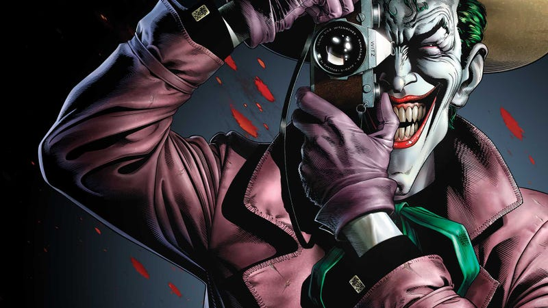 Illustration for article titled The Joker origin movie might borrow a plot point from The Killing Joke