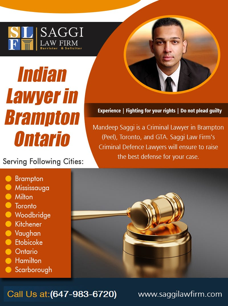 Illustration for article titled Indian Lawyer in Brampton Ontario