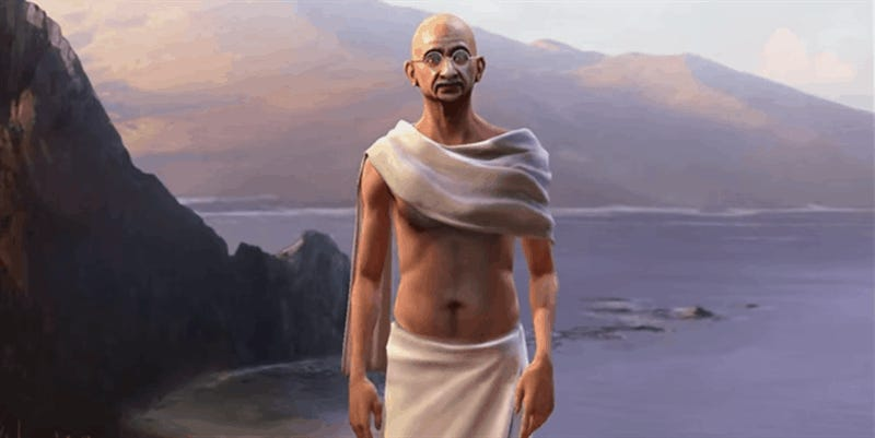 Why Gandhi Is Such An Asshole In Civilization
