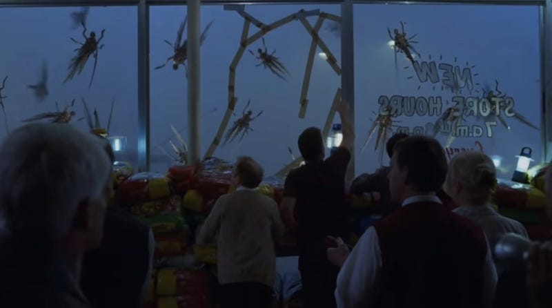 Image: Screengrab from 2007 The Mist feature film