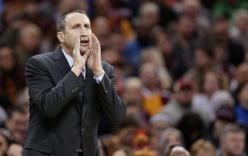 Illustration for article titled Report: Cavaliers Fire David Blatt