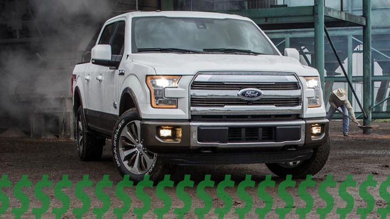 Illustration for article titled Ford Will Make $10.8 Billion Just Selling $50,000+ Trucks This Year