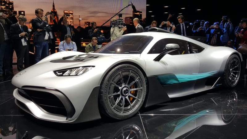 The Horsepower Mercedes AMG Project One This Is It