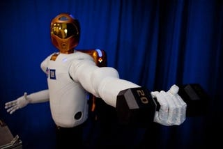 Illustration for article titled Robonaut2: NASA's Red Shirt Who May One Day Rule the Fleet