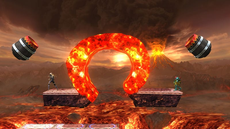 Illustration for article titled The Coolest Custom Stages For Super Smash Bros. Wii U (So Far)