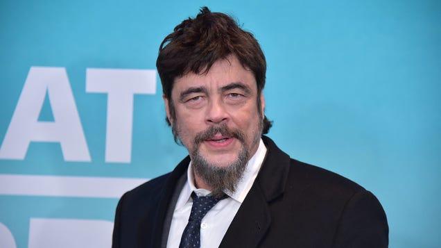 Benicio del Toro is Swiper in the Dora The Explorer movie