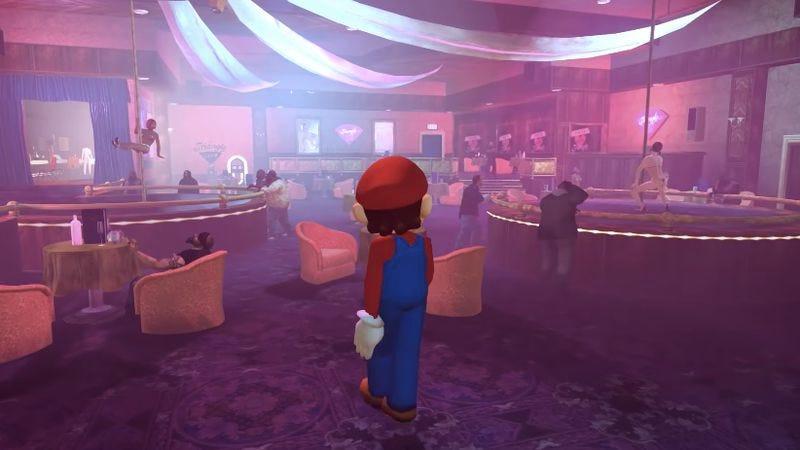 Screenshot: Super Real Mario Odyssey