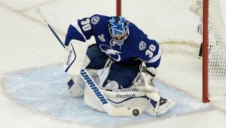 Illustration for article titled If Ben Bishop Had To Poop, The Lightning Just Need To Say So