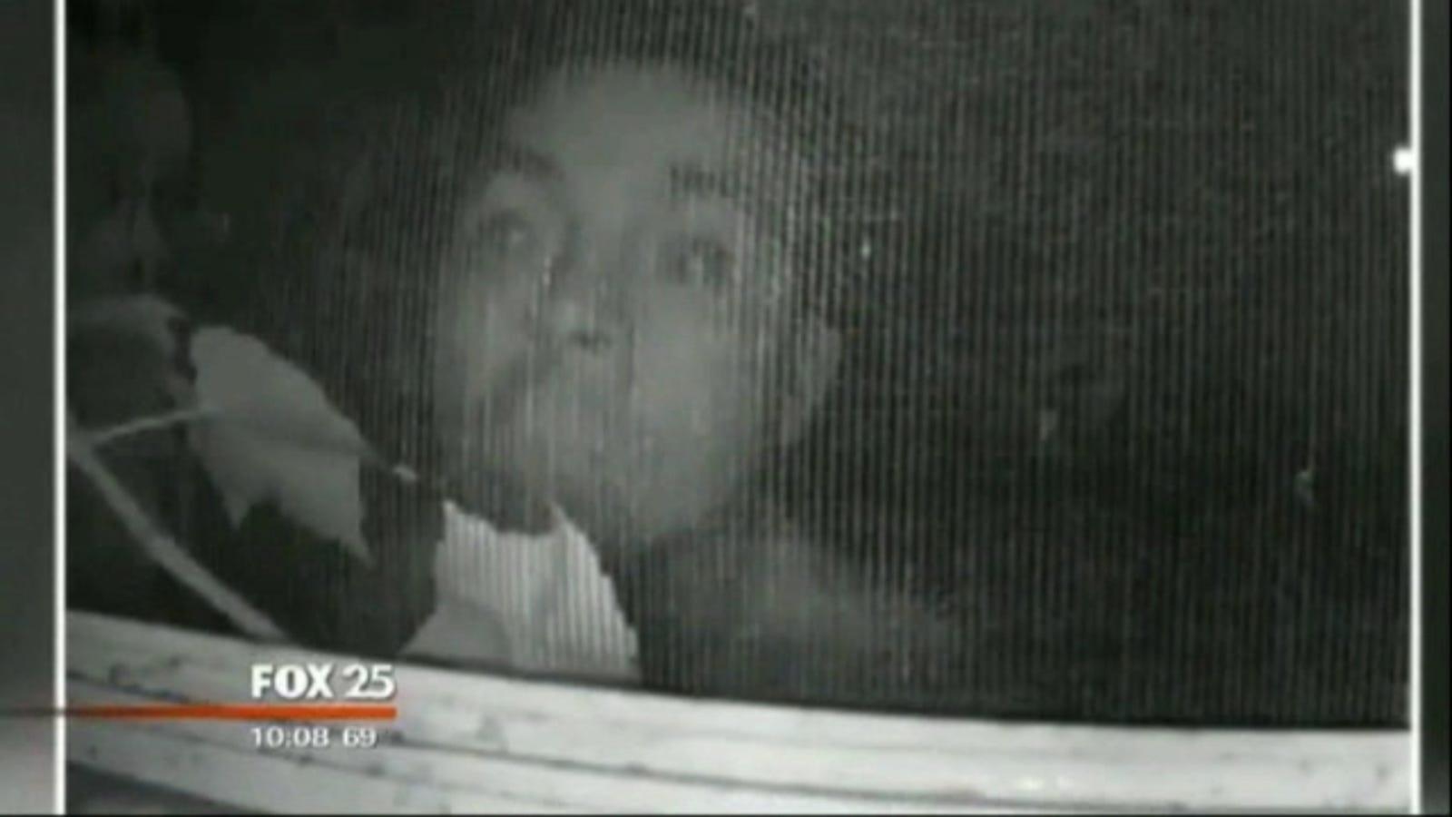 Creepy Ass Peeping Tom Caught On Bedroom Window