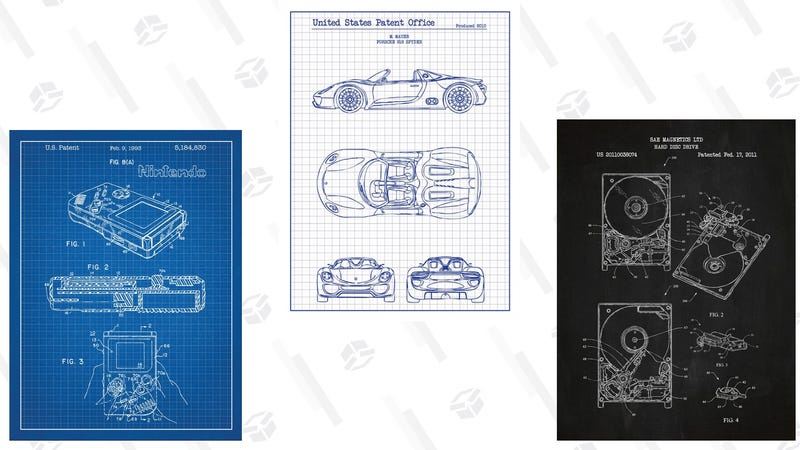 Inked and Screened Video Game Patent Prints | $16 | MassDropInked and Screened Automotive Patent Prints | $15 | MassDropInked and Screened Miscellaneous Patent Prints | $13 | MassDrop