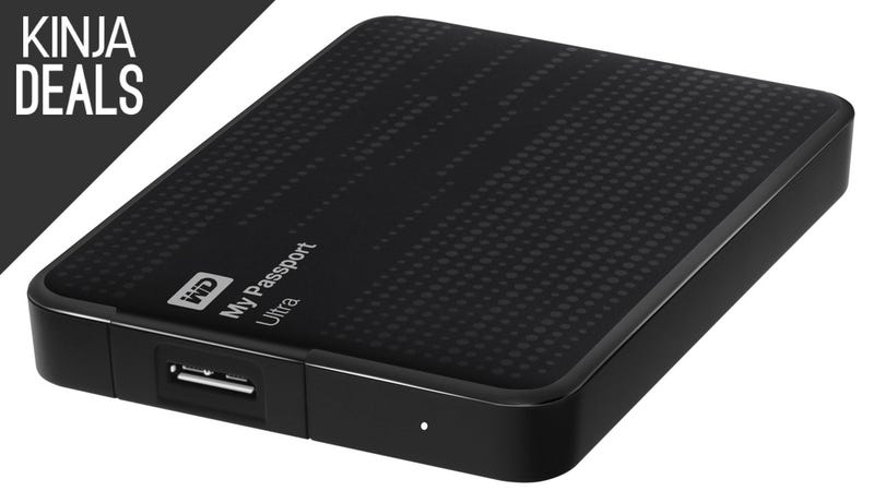 Illustration for article titled The Ultra-Popular WD My Passport Ultra 2TB is Back Down to $80