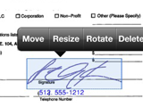 Illustration for article titled Zosh Fills Out and Signs Docs from Your iPhone, Makes Fax That Much More Useless