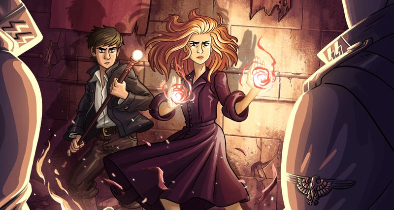 "Illustration for article titled Hermione Shoves Harry Aside: How I Learned To Subvert the ""Chosen One"" Trope"
