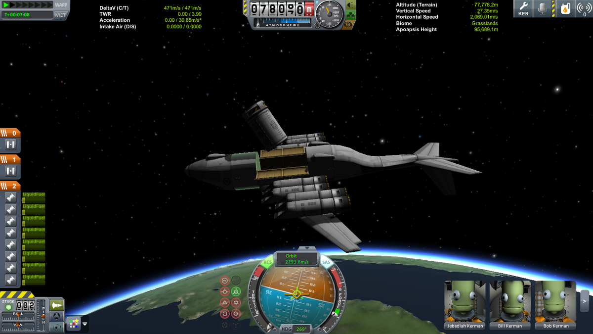 My current obsession: KSP